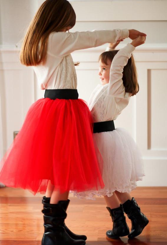 Tüllrock nähen für die kleinste Damen uns Sie werden sie bestimmt überraschen