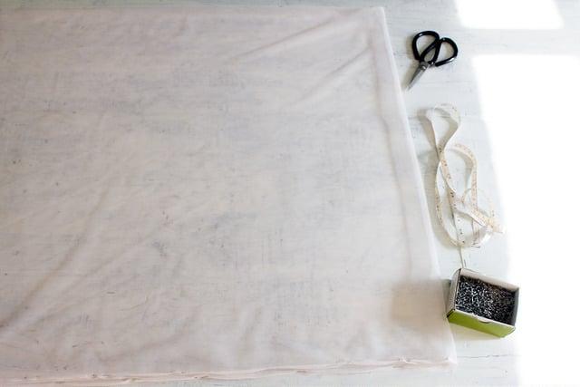 Anleitung für Tüllrock nähen: Schritt 3