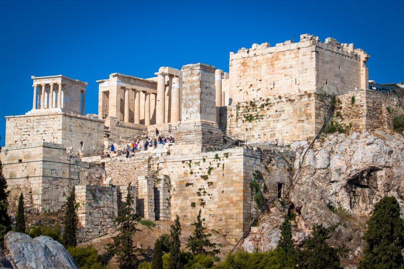 Günstige Urlaubsziele 2019: Akropolis in Athens