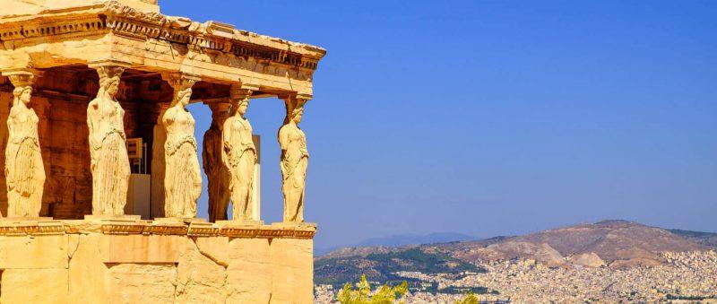 Günstige Urlaubsziele 2019: Hinblick von Athens