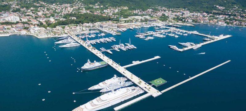 Top Urlaubsziele 2019: Hafen in Montenegro