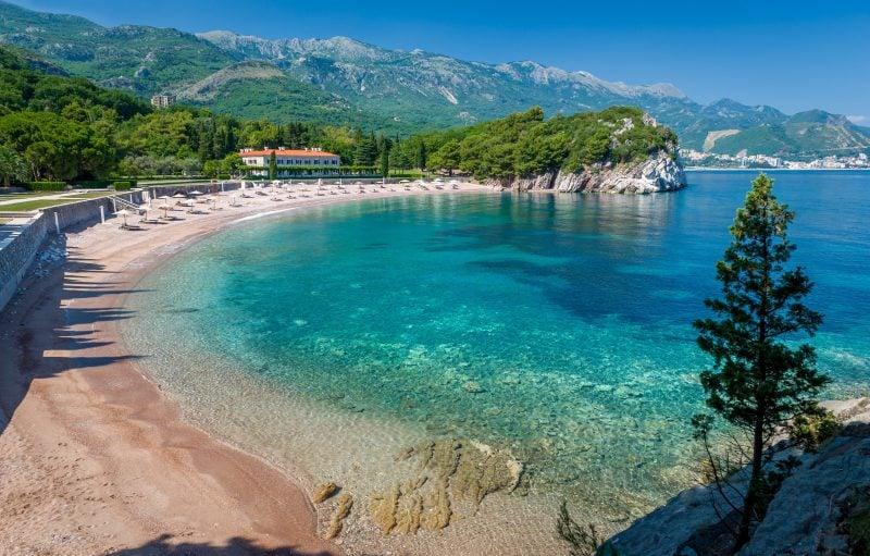 Urlaubsziele 2019: Schöne Strände in Montenegro