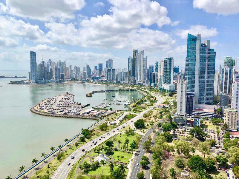 Die besten Urlaubsziele 2019: View von Panama City