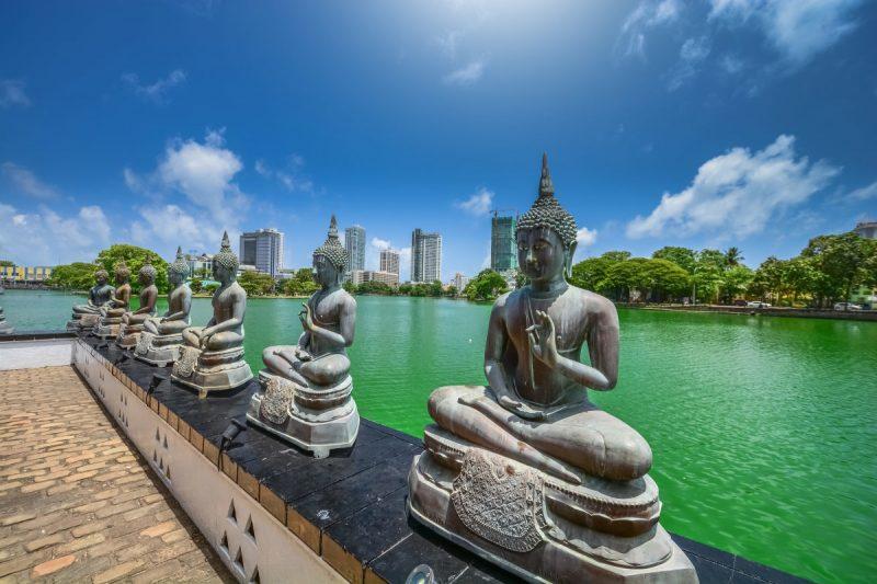 Die besten Urlaubsziele 2019: Colombo city in Sri Lanka