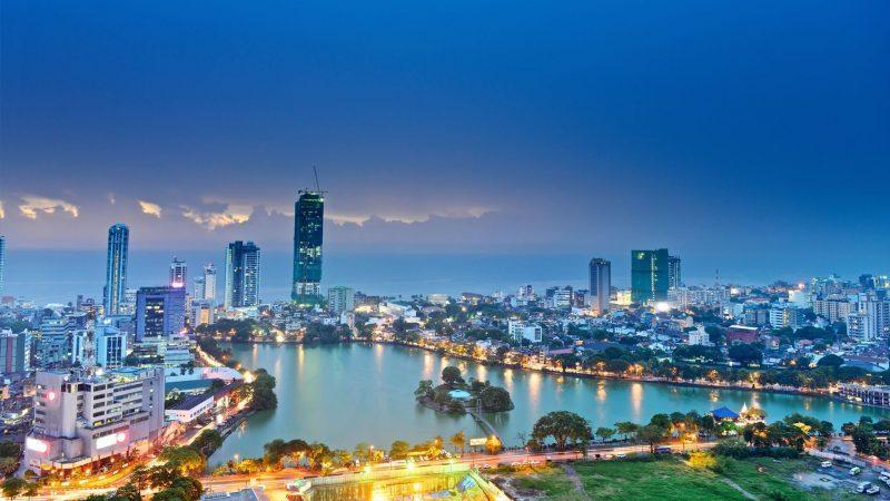Die besten Urlaubsziele 2019: View von oben von Colombo city