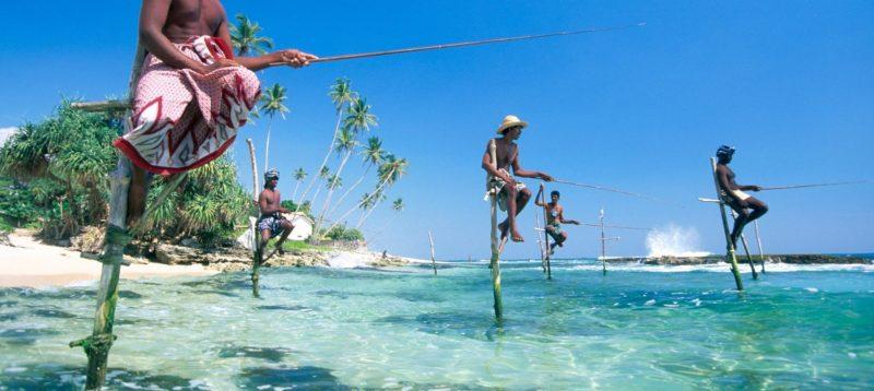 Die besten Urlaubsziele 2019: Fischen in Sri Lanka