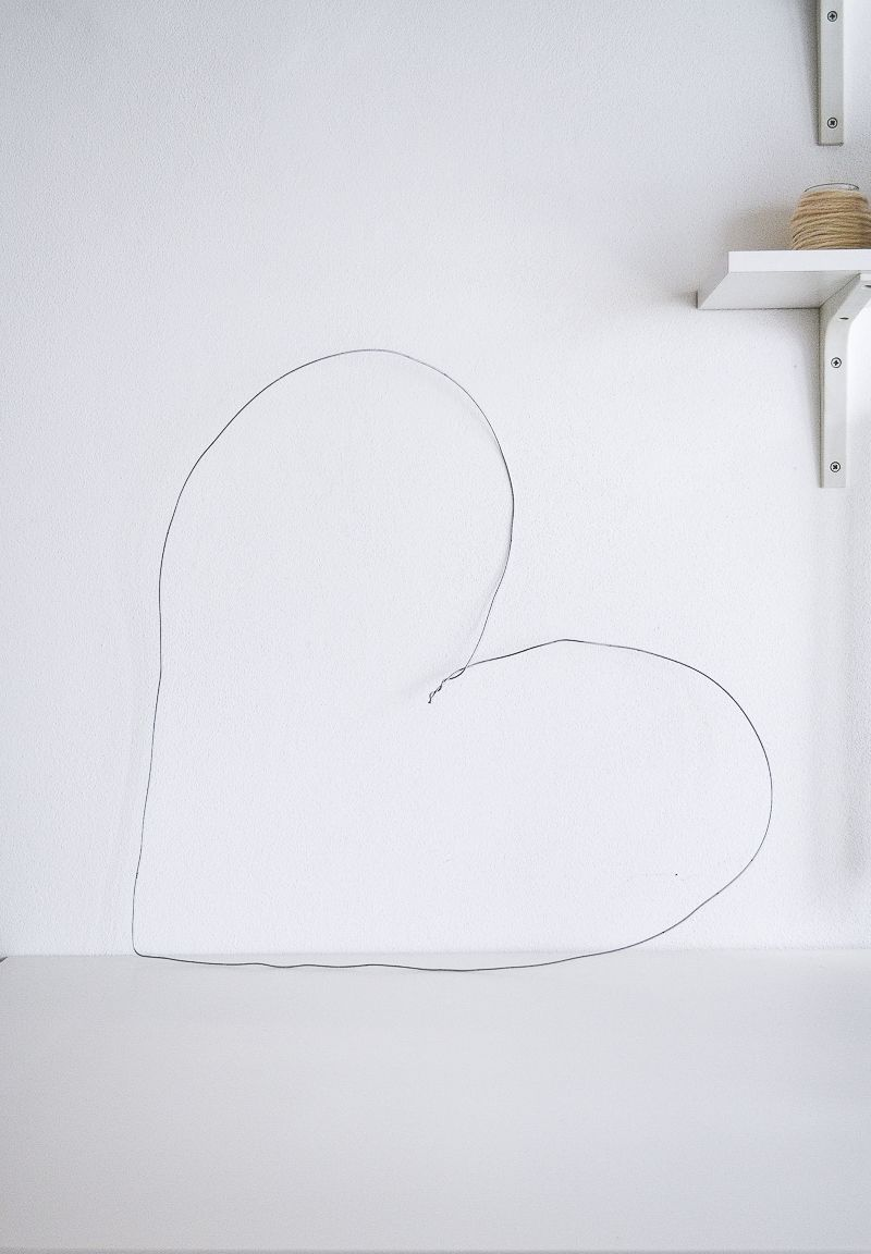 Valentinstag Deko DIY Wanddeko selber machen