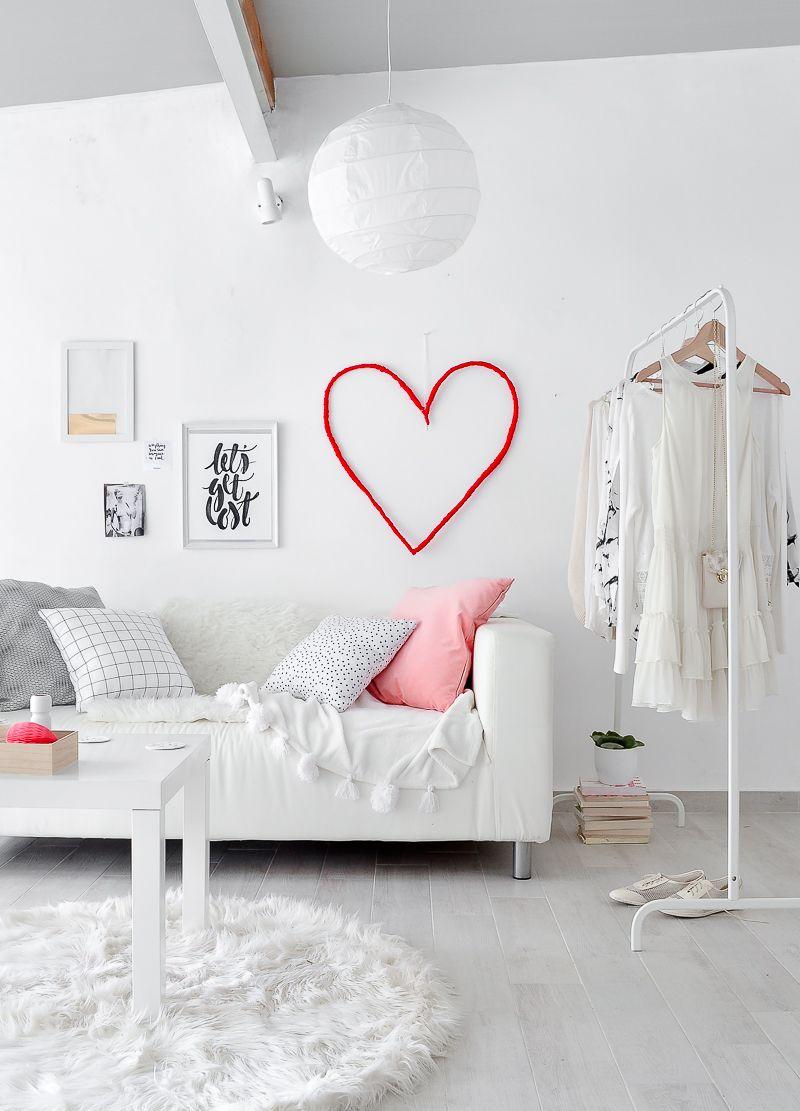 Valentinstag 2018 - Dekorieren Sie Ihre eigene Wohnung mit Liebe
