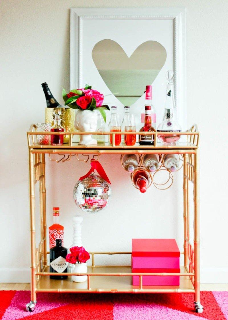 Valentinstag Deko für Frauen