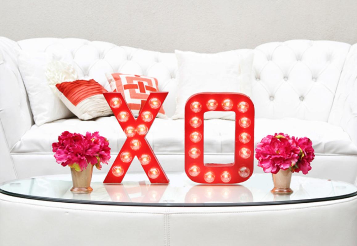 Valentinstag 2018 - Deko Ideen für Wohnzimmer