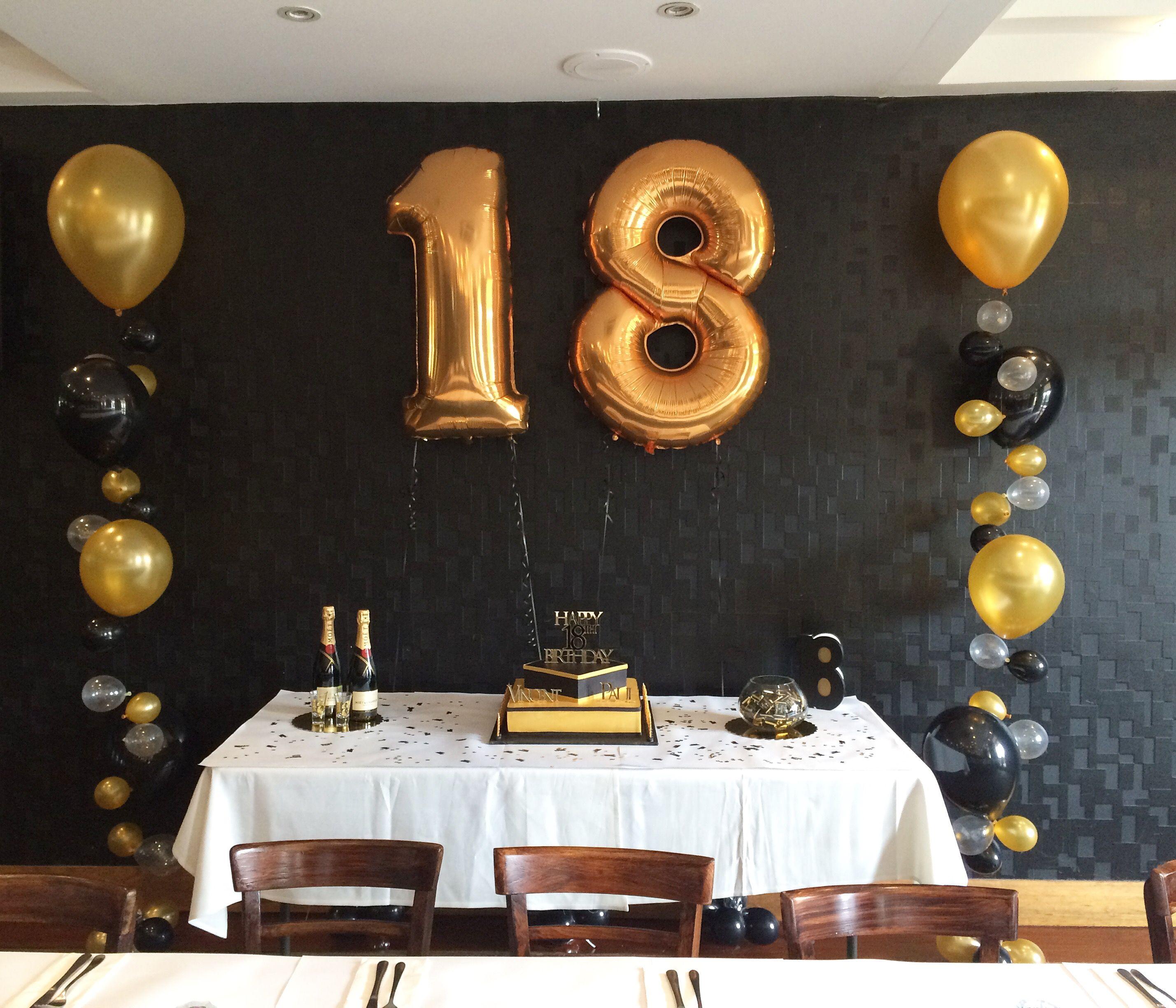 Geburtstagsparty zum 18