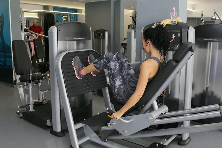 Beine trainieren Muskel aufbauen