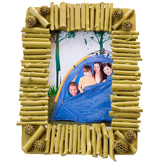 Muttertagsgeschenke basteln Fotorahmen