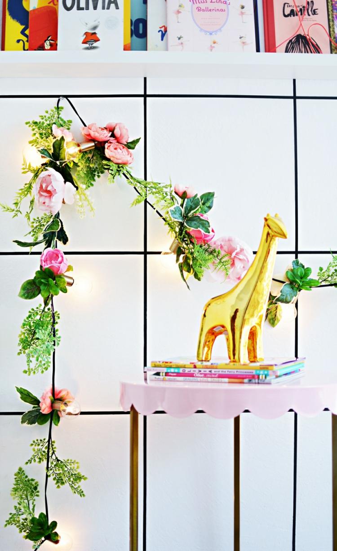 DIY Frühling Blumengirlanden