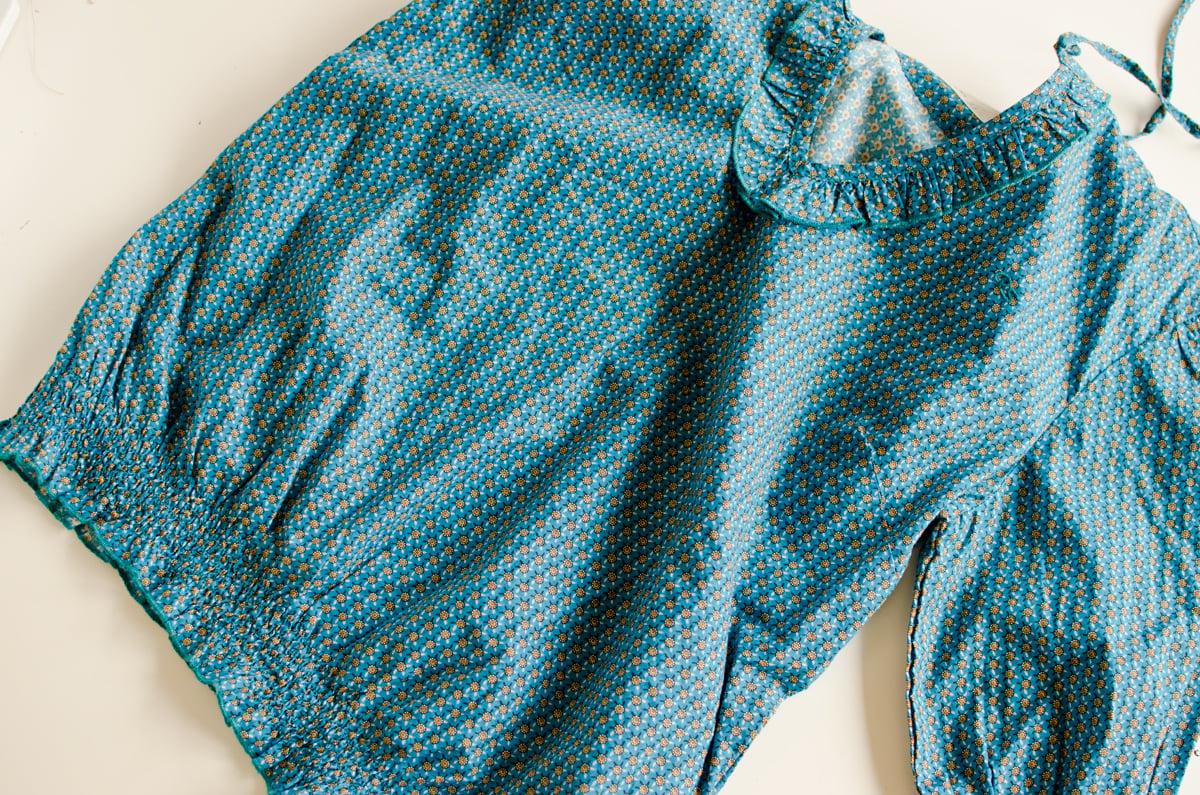 DIY Bluse tolle Nähideen Mädchen