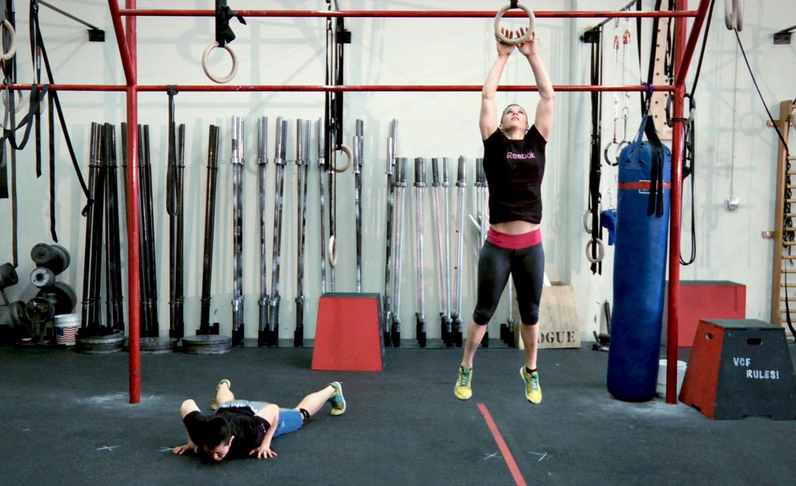 Crossfit Training Burpee
