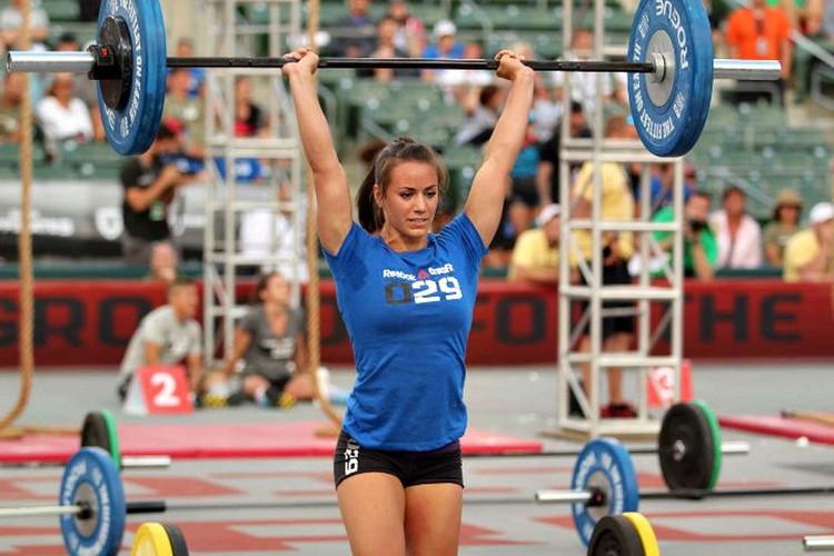 Wettbewerb Crossfit Gewichtheben