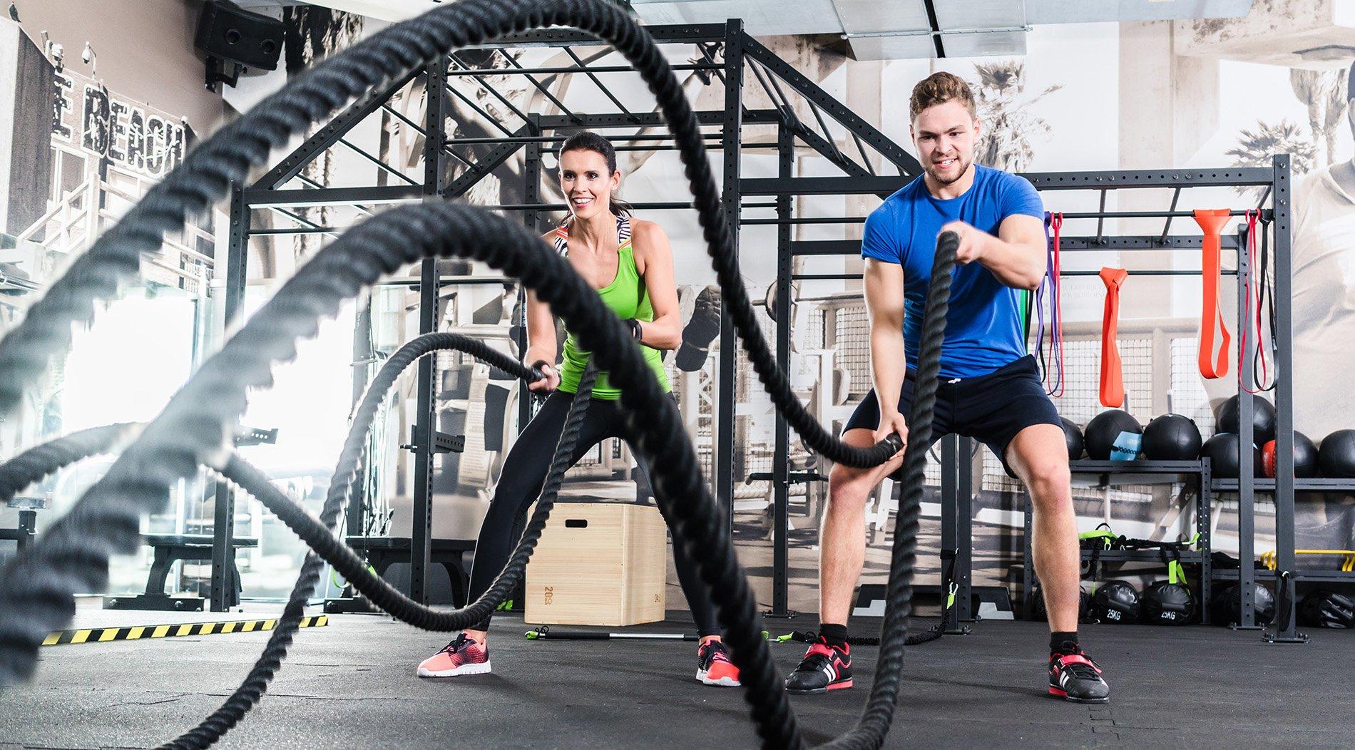 Crossfit Training Übungen Seil