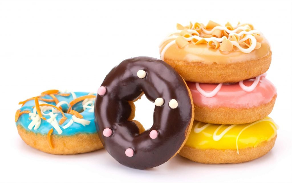 Donut Rezept lecker gesund