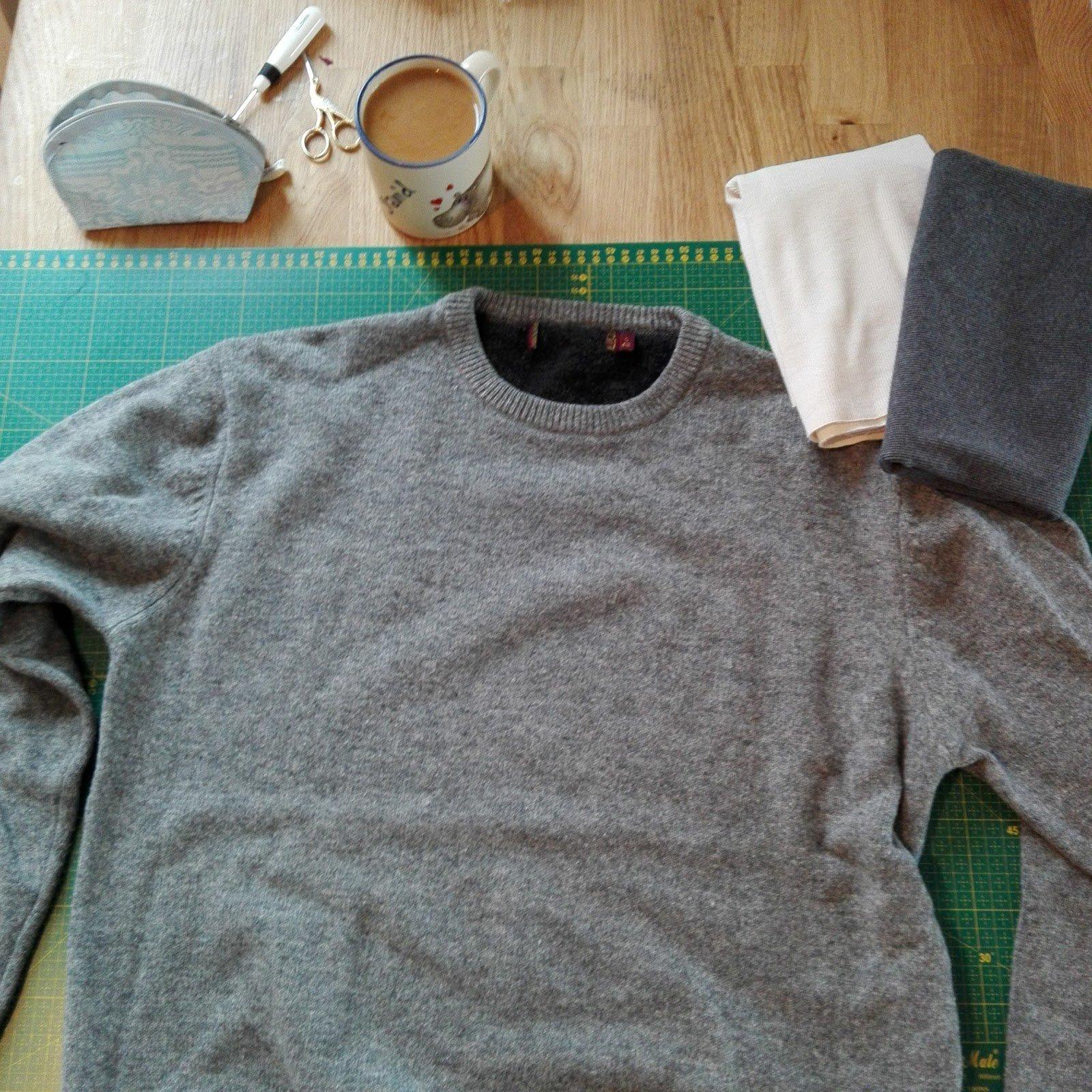 alte Kleidung wiederverwerten
