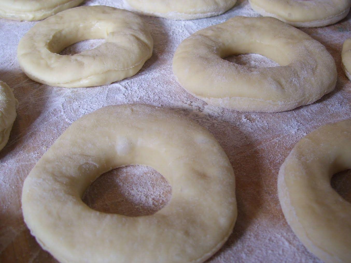 Donuts backen Teig zubereiten