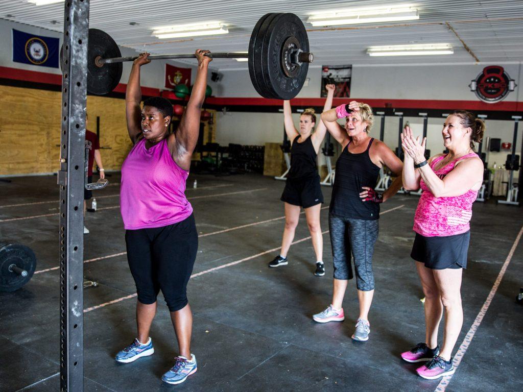 Gewichtheben Frauen Abnehmen