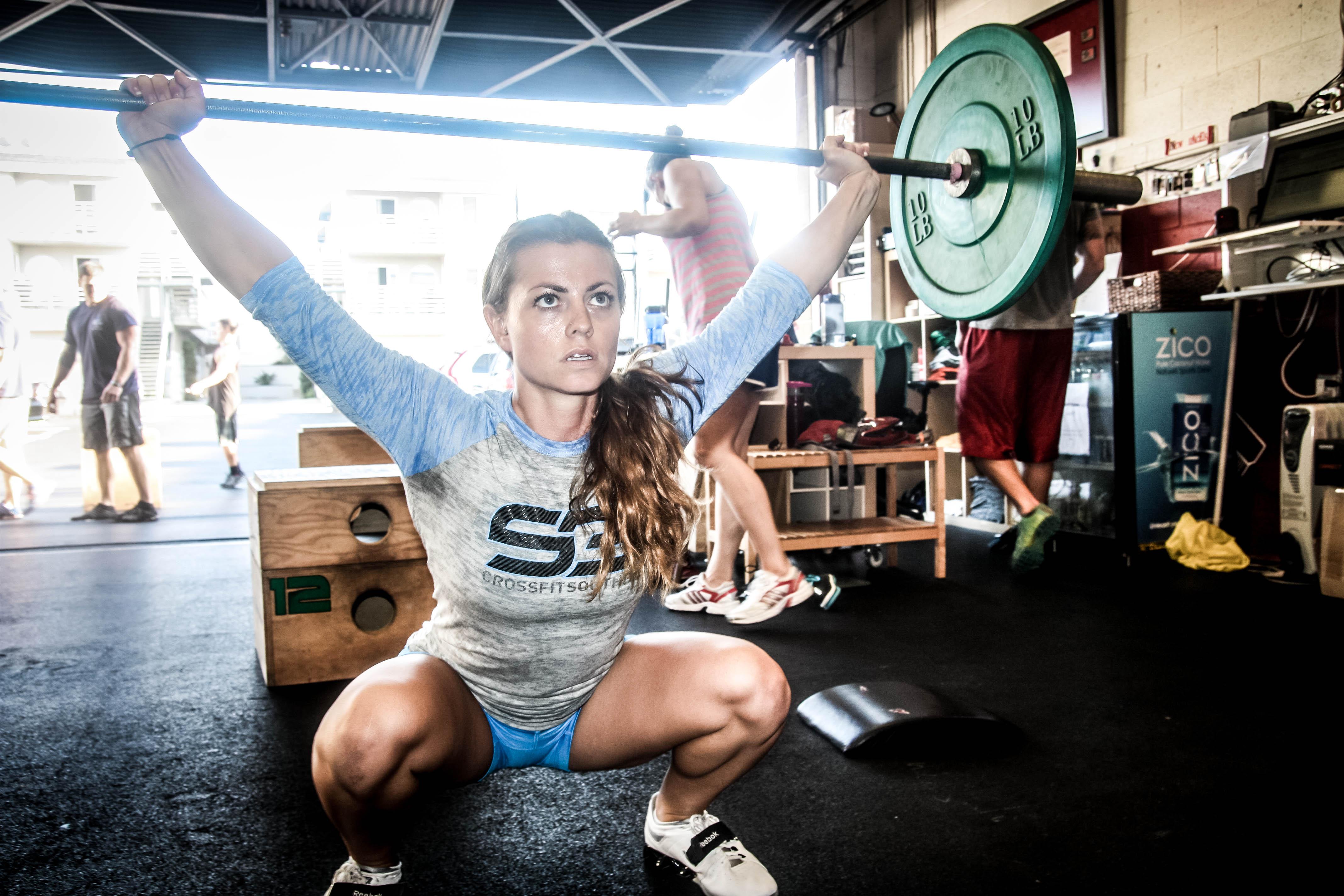 Gewichtheben Muskel aufbauen