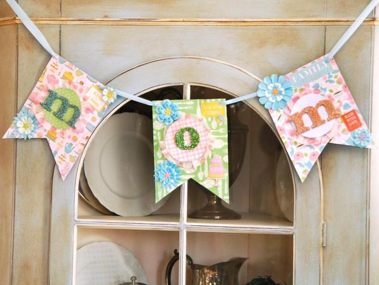 Muttertag feiern Girlande