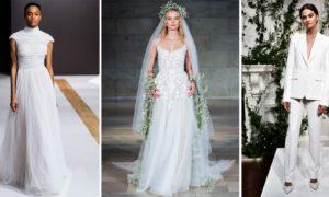 Brautkleider 2019 neue Trends