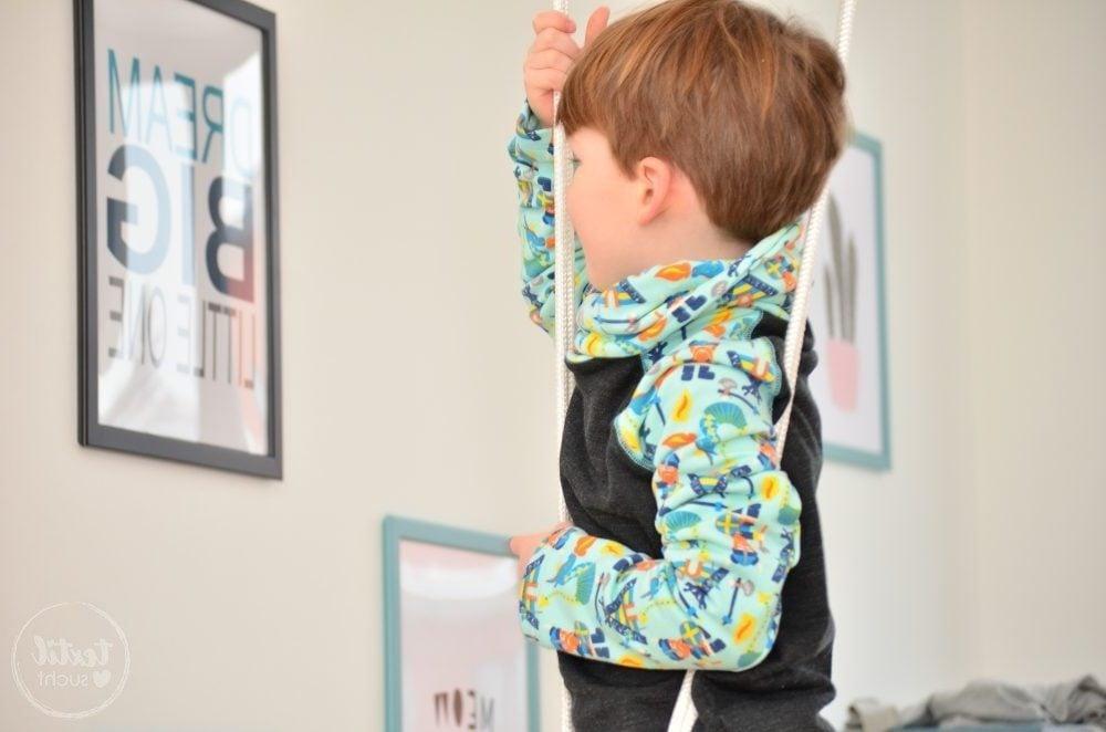 Kleidung nähen für Junge
