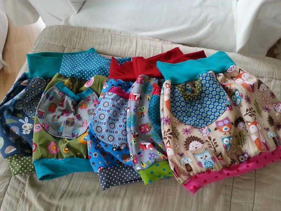 Kinderkleidung selber machen einzigartige Ideen