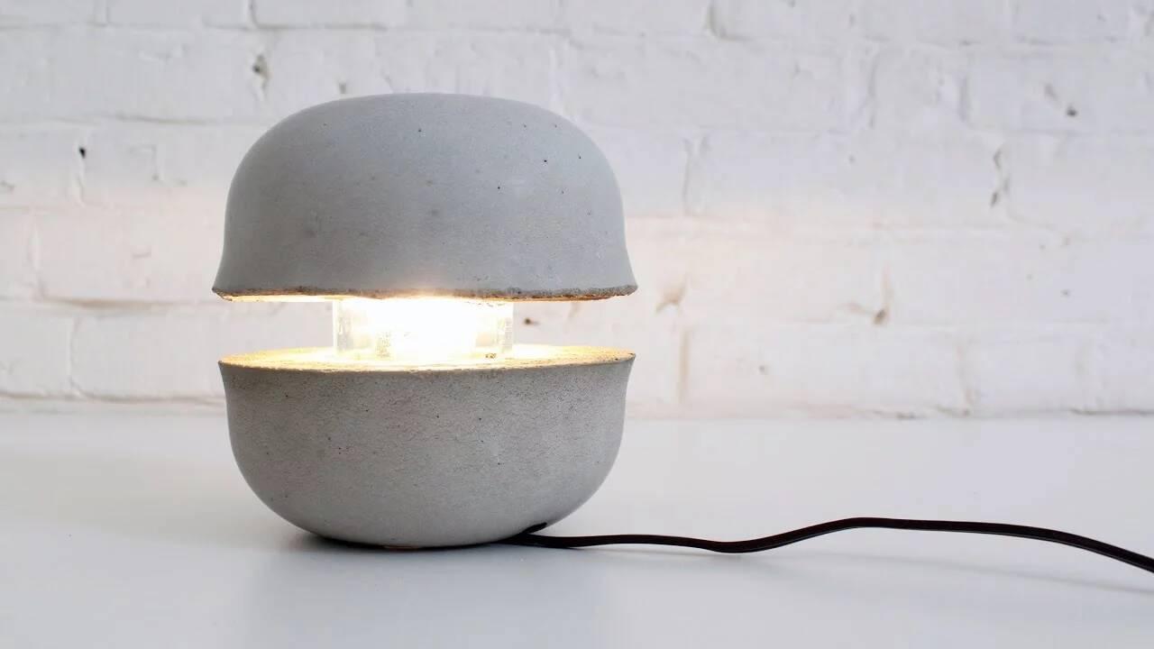 Betonlampe selber machen - DIY Anleitung