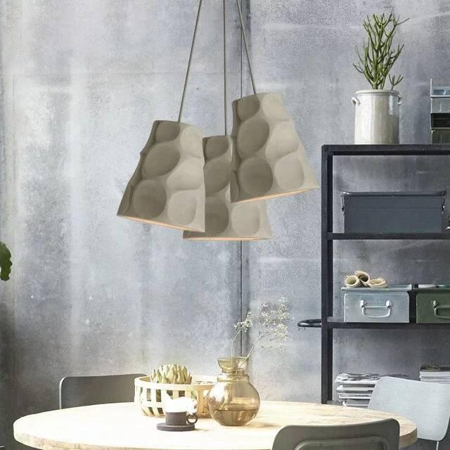 Betonlampe - Lampenschirm für die Küche