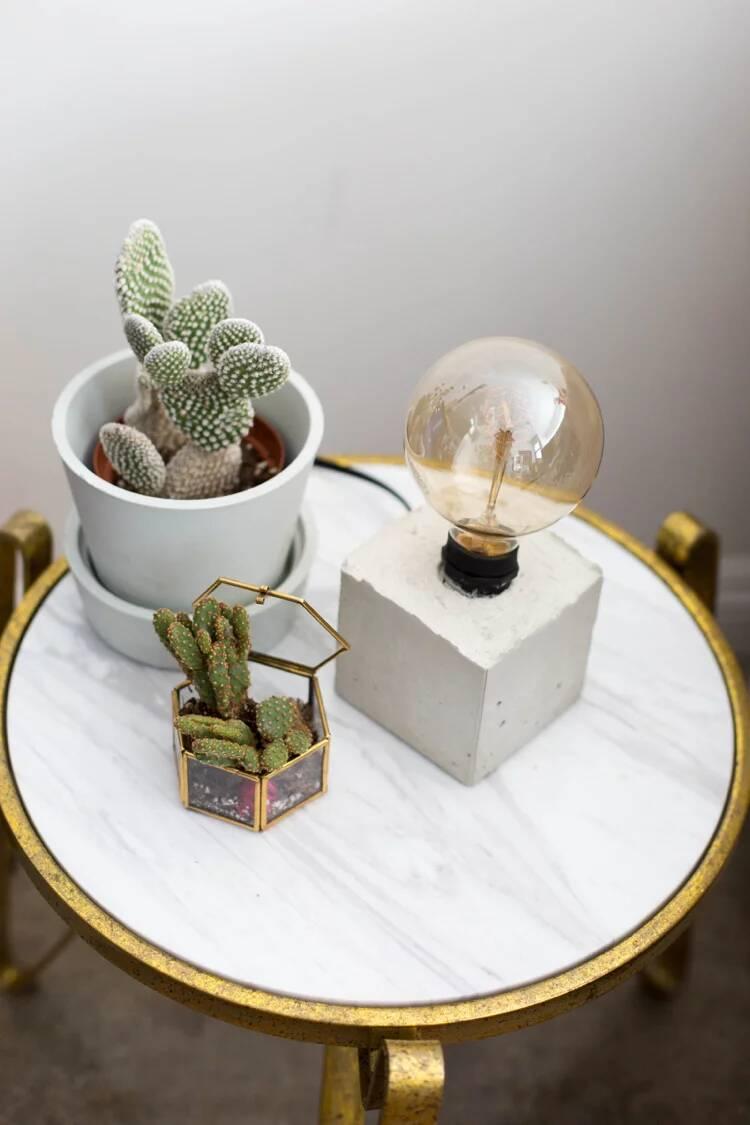 Betonlampe selber machen: Anleitungen und kreative Ideen