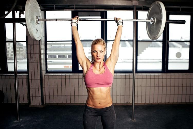 Crossfit Übungen Langhantel Gewichtheben