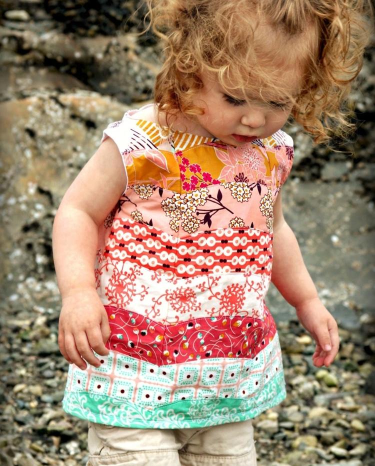 Kinderkleidung DIY Tunika Mädchen