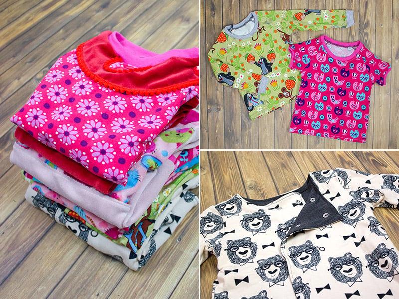 DIY Kleidung inspirierende Ideen für Kinder