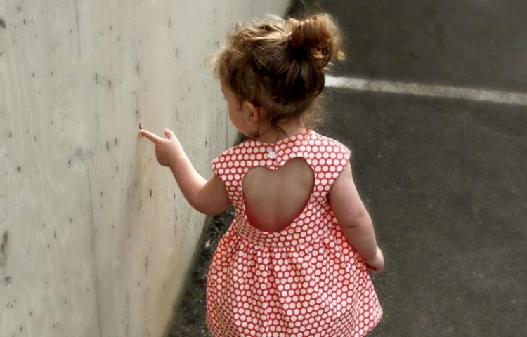 Kinderkleidung entzückendes Sommerkleid Mädchen