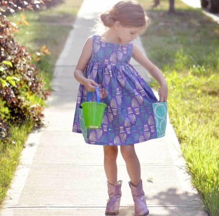 Kinderkleidung herrliches Sommerkleid