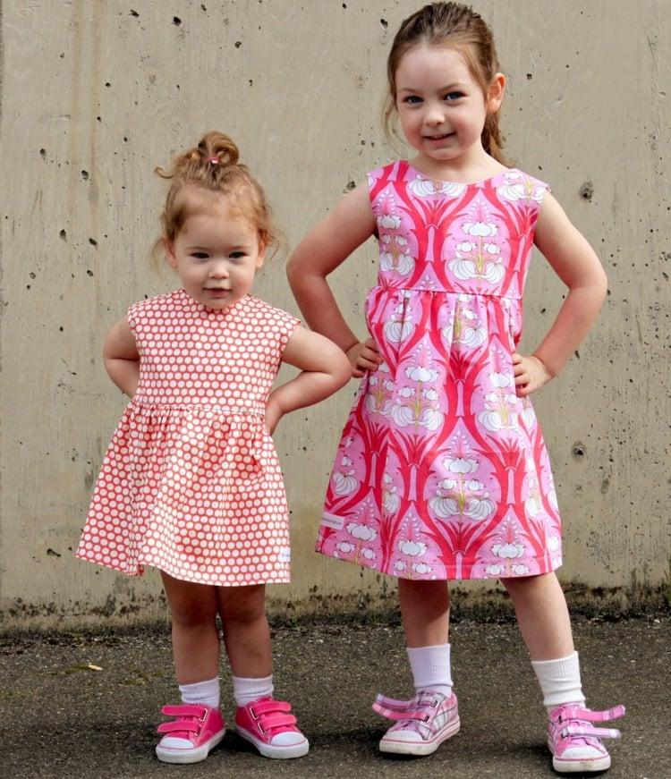 Kleidung für Mädchen selber machen