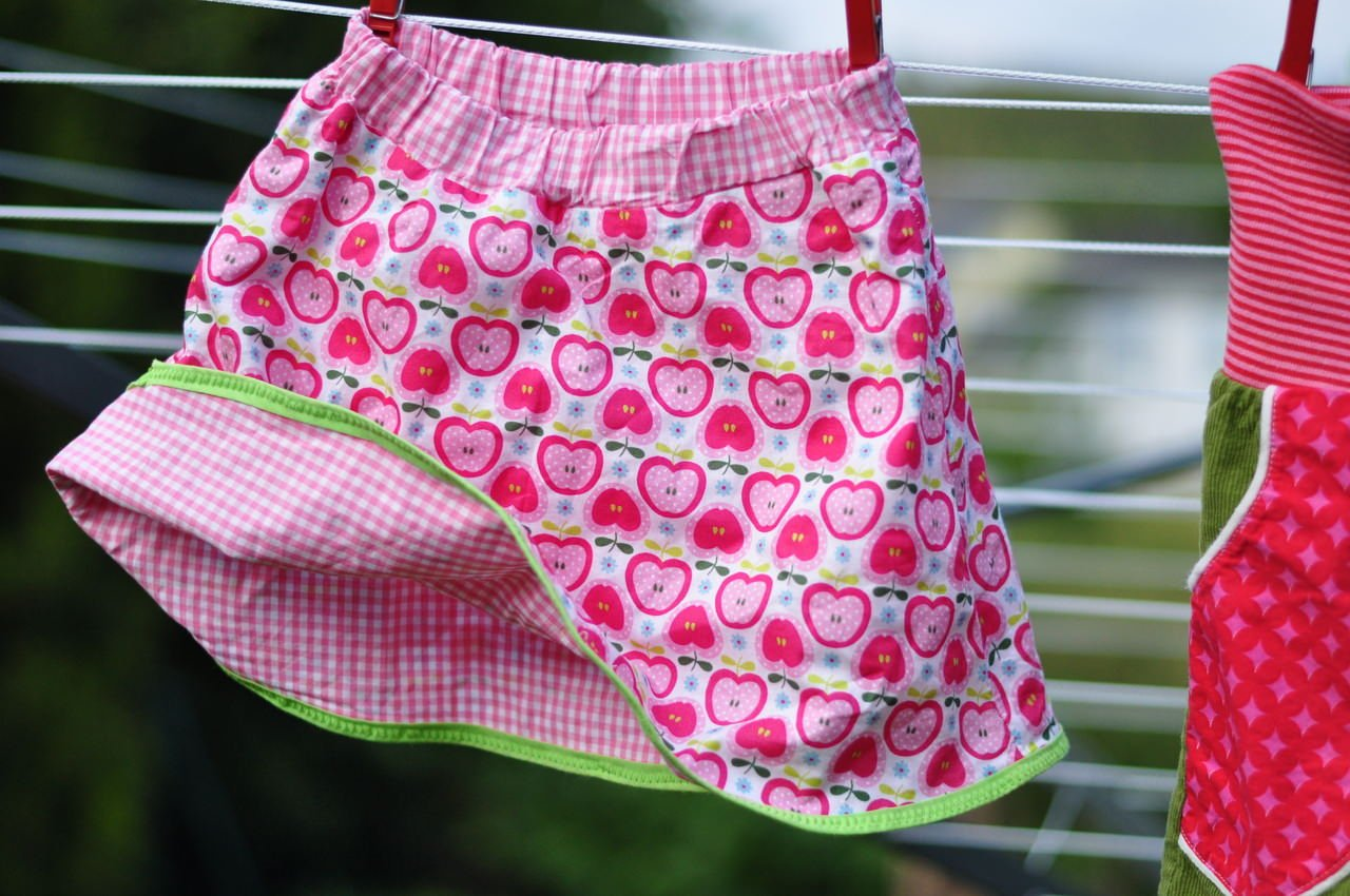 Kinderkleidung DIY Wenderock
