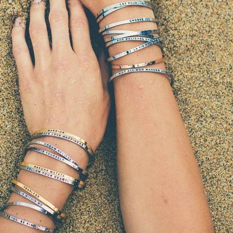 Armbänder schenken 18. Geburtstag
