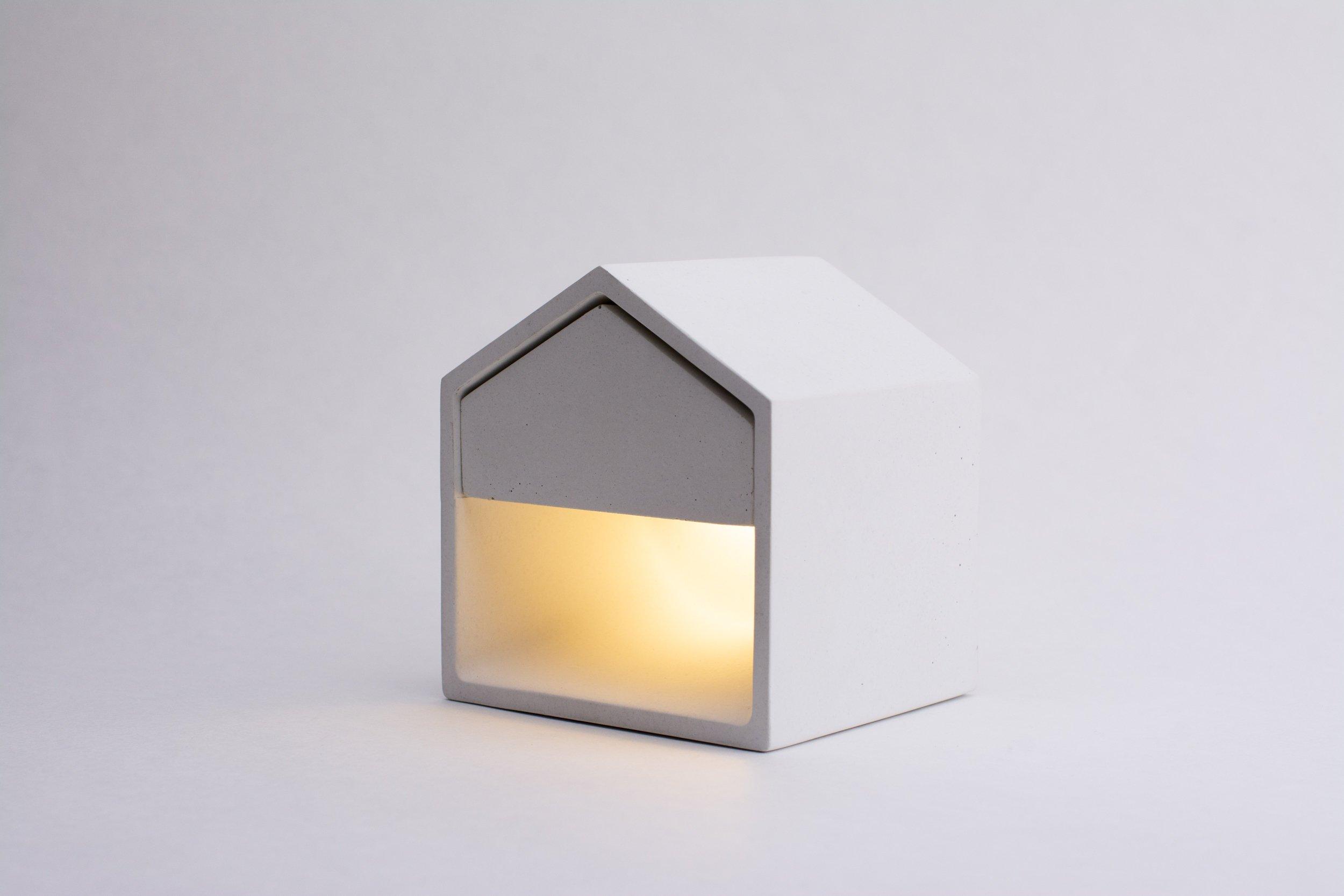 Mit Beton basteln - Betonlampe selber machen