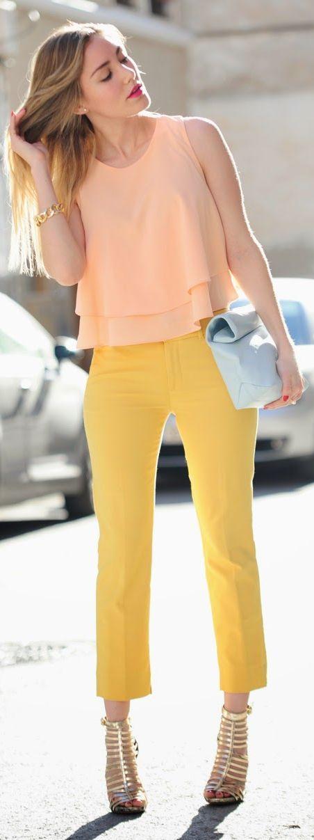 Farben Frühlingstyp - wählen Sie warme Tonen mit goldenem Unterton