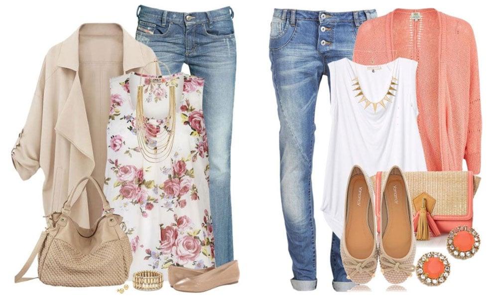 Frühlingstyp Outfit Ideen - Welche Farben passen?