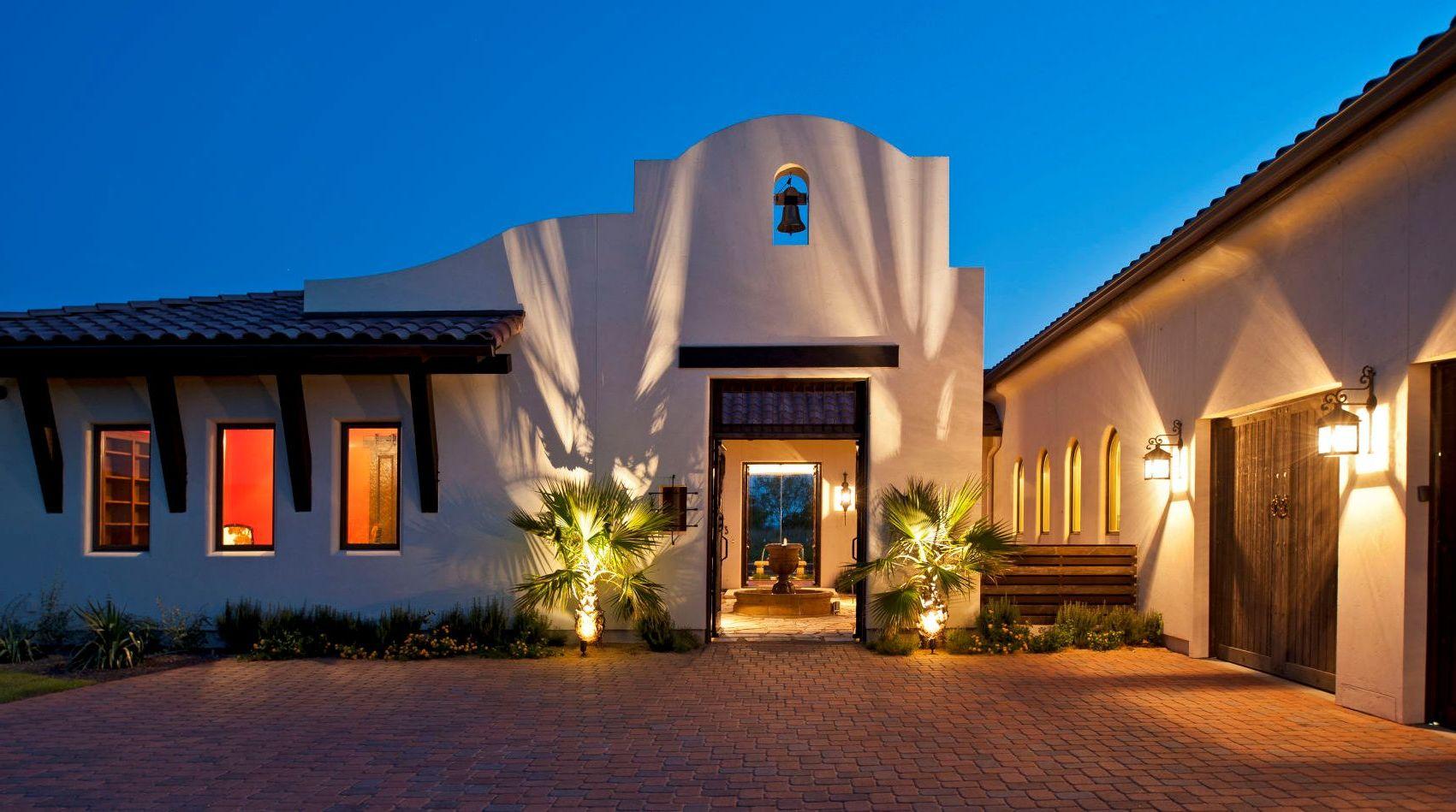 Innenhof Spanischer Häuser: tolle Beleuchtung