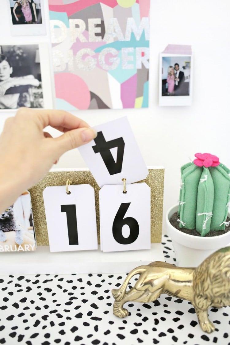 Kalender zum Selber Basteln nach Ihrem Geschmack