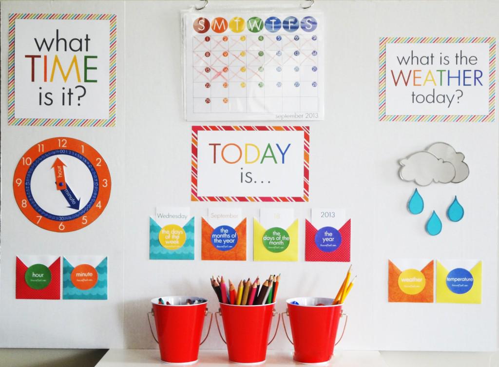Kalender selber basteln: tolle Idee für Überraschung Ihrer Kinder
