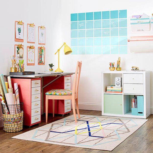 Kalender selber basteln für das Kinderzimmer