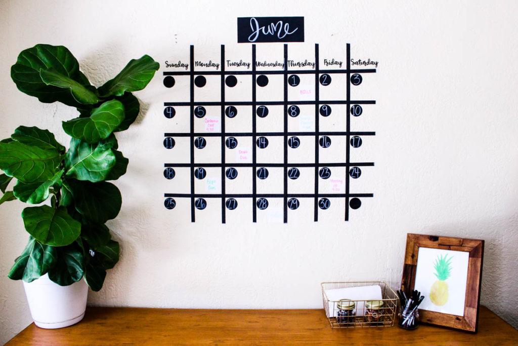 Kalender zum Selber Basteln und perfekt für Notizen